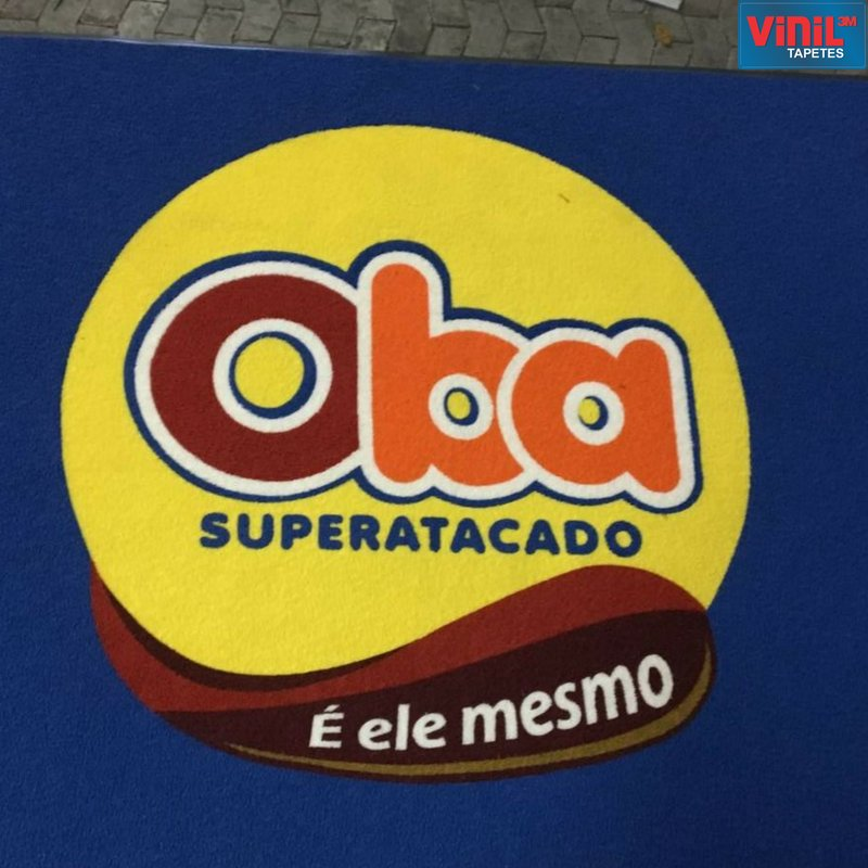 Tapete para Superatacado - Oba Superatacado