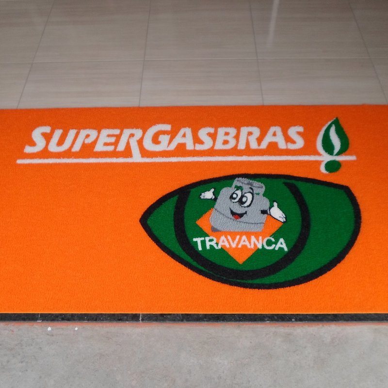 Tapete para comércio - SuperGasbras Travanca